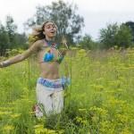 Hippie running